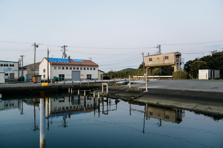 江川海岸の入り口