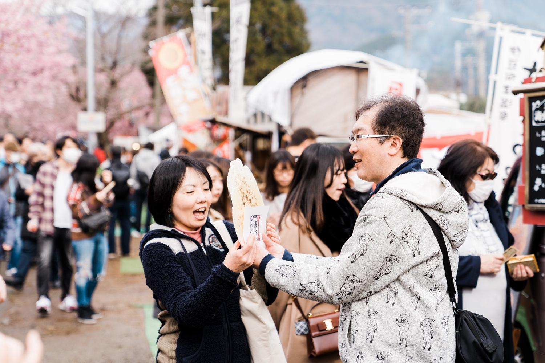 河津桜まつりの様子8