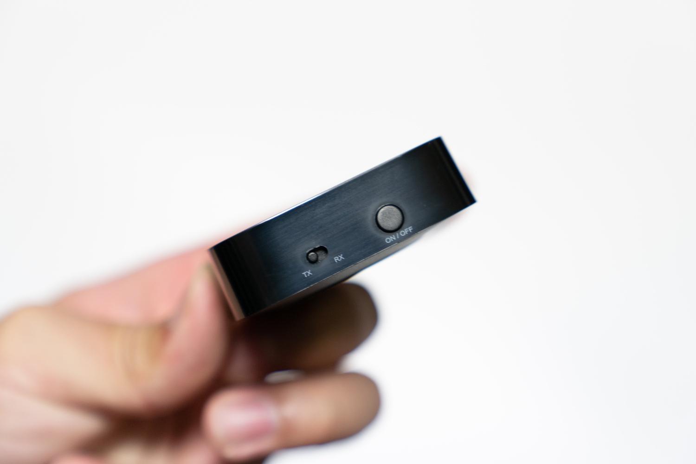 起動ボタンとモード切り替えスイッチ
