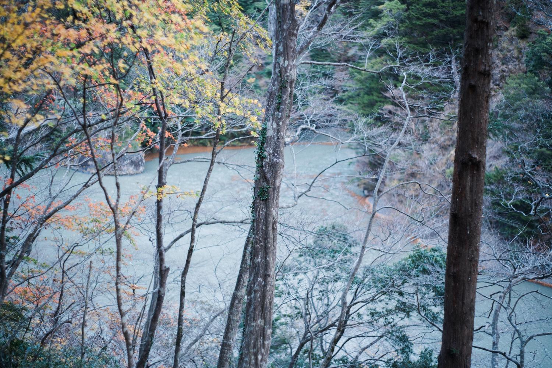 川が見えてきた